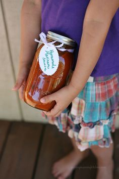 Enjoy August's fresh tomatoes all year long in this amazing homemade Fresh Tomato Basil Marinara Sauce Recipe. You can freeze the sauce in jars - just leave a little room for expansion at the top :)