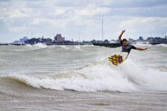 Best Surf: 57th Street Beach (Photo by Mike Killion)