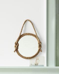 Martha Stewart : Rope Mirror