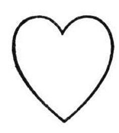 Heart Onsie template
