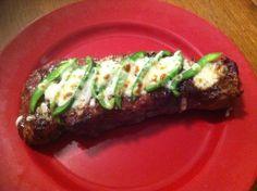steak recip, strip steak