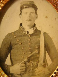 Confederate Infantryman possibly from Texas