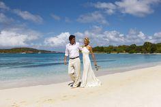Caneel Bay St. John USVI Beach Wedding