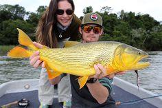 Golden Dorado with April Vokey and SWC fish women, fli fish, april vokey, golden dorado