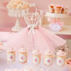 Ballet Party Treats and Decorations