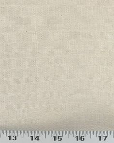 Window seat and back of pillows: Rustic Linen Natural (RUNNAL)