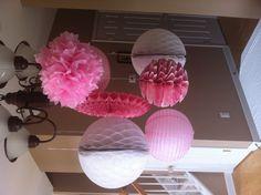 Decorations for baby shower, bridal shower, etc!