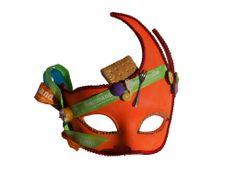 Masque réalisé à partir du matériel à trouver sur le site : http://www.artgate.fr/