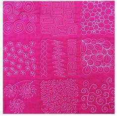 Color Fucsia - Fuchsia!!! quilting patterns