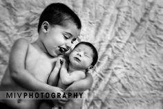 Newborn brothers photo - My sons photographed by Miv Photography - Ottawa Canada