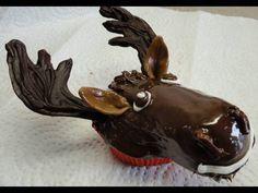 Decorating Cupcakes #8:  Moose