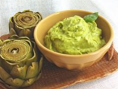 """Avocado Mayonnaise: ready in a flash, no-cook and perfect (almost) wherever you'd use """"regular"""" mayo! Vegan, gluten-free, egg-free, dairy-free, no refined sugars."""