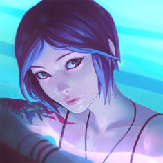 Chloe Process GIF | Kuvshinov Ilya on Patreon