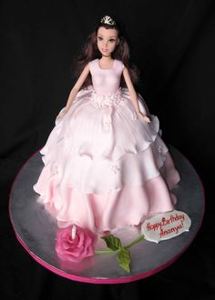 Birthday princess By Lelka on CakeCentral.com