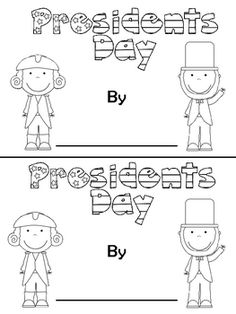 Presidents Day booklet