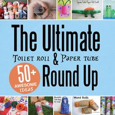 paper appl, toilet paper rolls, toilet paper crafts, appl stuff, toilet roll crafts, kids craft round up, kid crafts, craft ideas, toilet paper tube