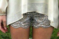 sequin shortsssss