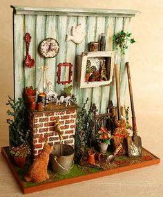 Miniatura tiempo Dollhouse de COCO -