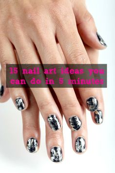 15 Easy Nail Art Ideas You Can Actually Do in 5 Minutes