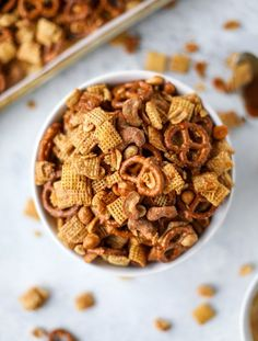 Chex Mix Recipe - Chipotle Caramel Chex Mix Recipe