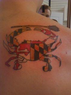 tattoo on pinterest maryland tattoo indian tattoos and crab tattoo. Black Bedroom Furniture Sets. Home Design Ideas