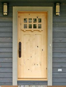 Craftsman Door