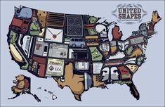 United Shapes of America (XKCD)
