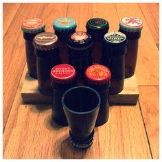 Beer Bottle Shot Glass