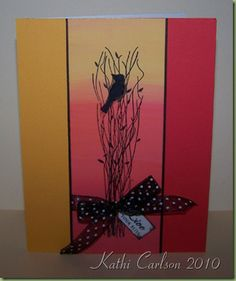 images inkadinkado branches | This one is quite a contrast from the top card, isn't it? It's ...