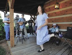 Clogging is the official state dance of Kentucky and North Carolina and was the social dance in the Appalachian Mountains as early as the 18th century.