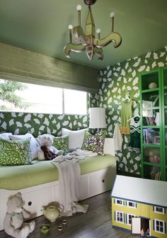 Vibrant Kid's Room - Colors We Love: Emerald Green on HGTV