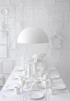 White styling /