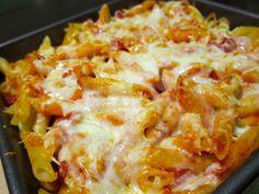 Parmesan chicken penne casserole - a better way of making chicken pasta
