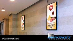 Nuestras carteleras de Publicidad Dinámica Digital en el Centro Comercial Parque Costa Azul de Margarita