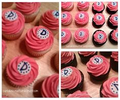 A Cupcake Love Affair: It's a Baby! Simple, Beautiful Baby Shower Cupcakes