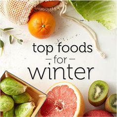 Top 10 Power Foods for Winter