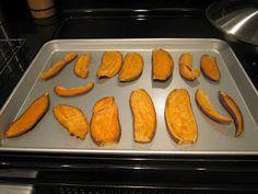 Homemade Sweet Potato Dog Chews - a healthy alternative to rawhides