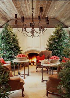 christmas design, dream homes, decorating ideas, winter wonderland, nanci braithwait, christmas photos, christmas trees, veranda magazin, the holiday
