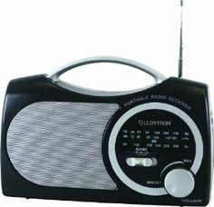 Lloytron-black 3 Band Portable Radio N325bk (lloytron, ) Mw / Fm / Lw ...