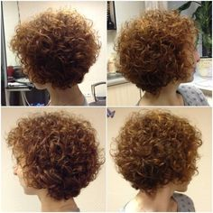 Long Hairstyles Curly Hair Perms as well Spiral Perm Short Hair ...