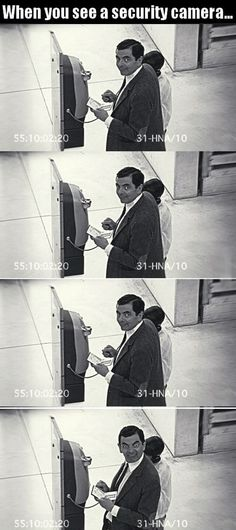 Funny Pictures of the day, 75 pics. When You See A Security Camera
