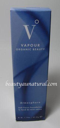 Beauty Au Natural: Vapour Organic Beauty Atmosphere Soft Focus Foundation
