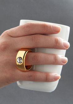 cute mug with a ring handle