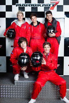 These boys look so cute