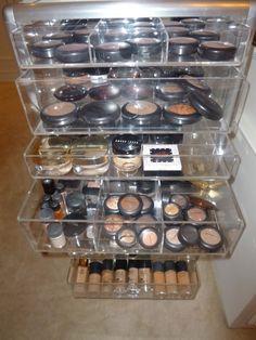 decor organ, makeupbeauti idea, makeup organization, makeup collection, dream, makeup storage, makeup drawer, organ freak, drawers