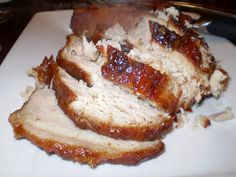 Brown Sugar Pork Loin in the Crockpot- For dinner on Wednesday
