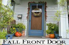 Minerva's Garden:  Fall Front Door