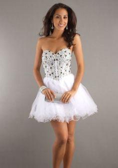 Alyce Strapless Party Dress