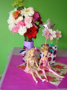 Aprontando artes: decoração festa infantil Barbie, Barbies