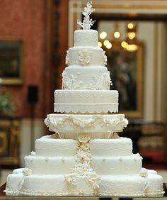 most beautiful cake ever.....cate middleton & prince williams